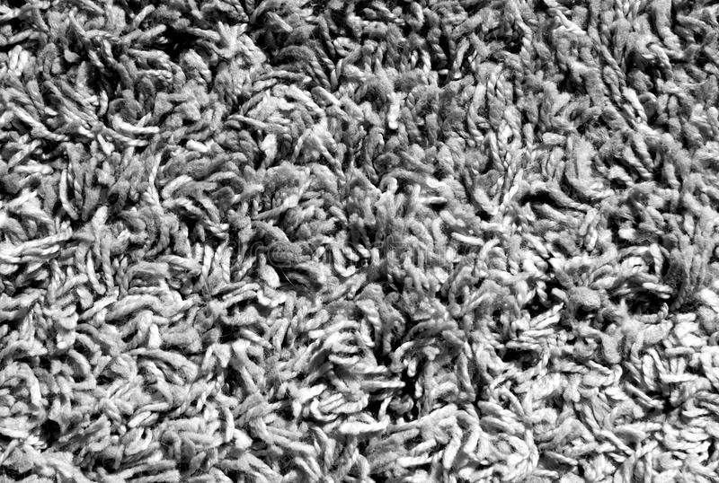 Black and white color carpet surface. stock images