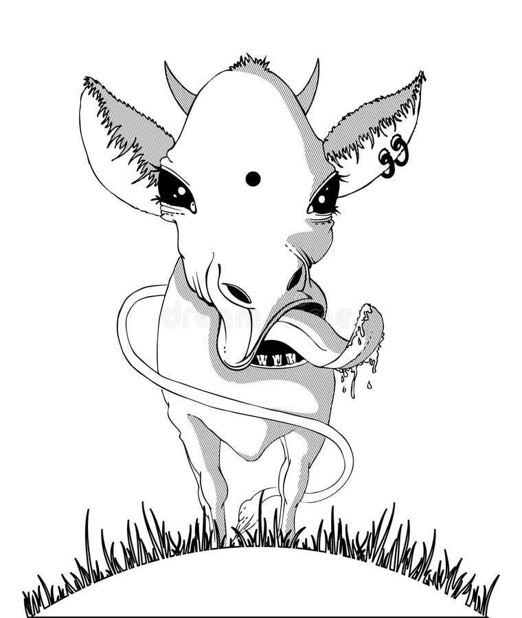 Free Black & White Cow Royalty Free Stock Photo - 9576465