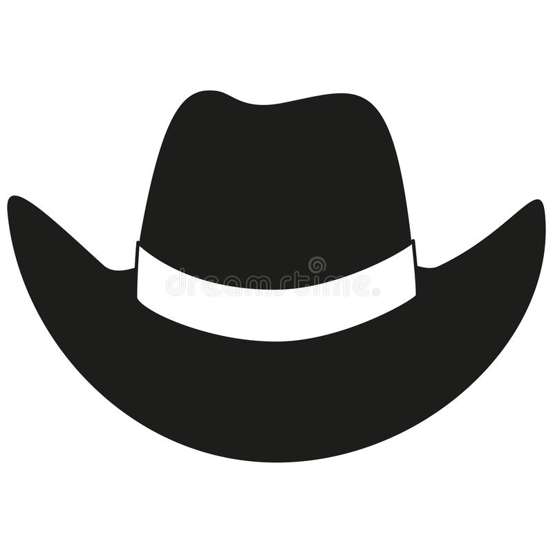 Black And White Cowboy Hat Silhouette Stock Vector Illustration Of Rancher Dress 115040465 Men's women's wild west fancy cowgirl cowboy old west headwear western hat w3f5. black and white cowboy hat silhouette