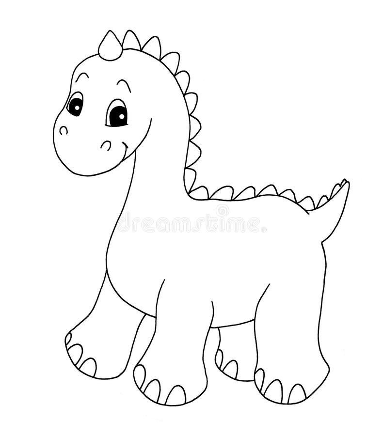 Dinosaur Valentine Coloring Pages