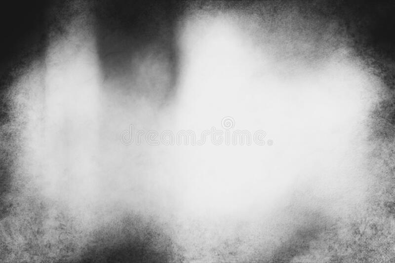 Black and white eerie grunge texture or background. With space for text or image royalty free stock images