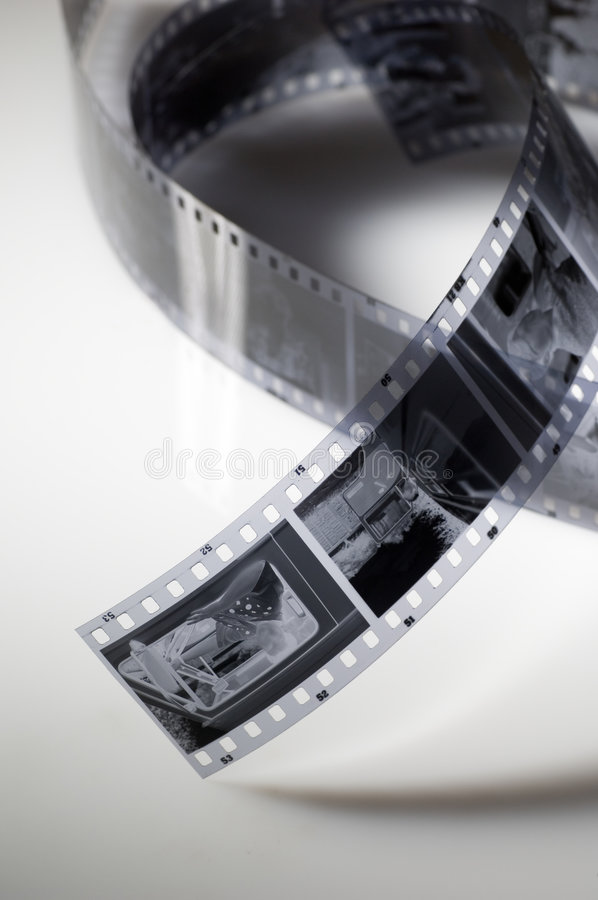 Download Black and white film stock image. Image of actor, memory - 1460493