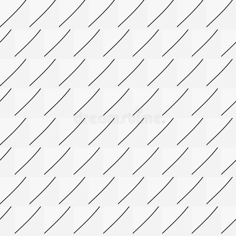Black and white geometric background with thin lines. Seamless background in minimalist style. royalty free illustration