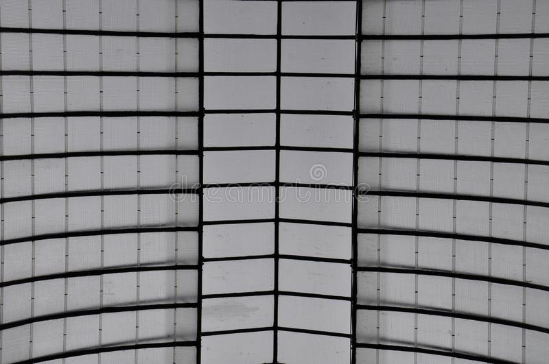 Black and white geometric pattern royalty free stock image