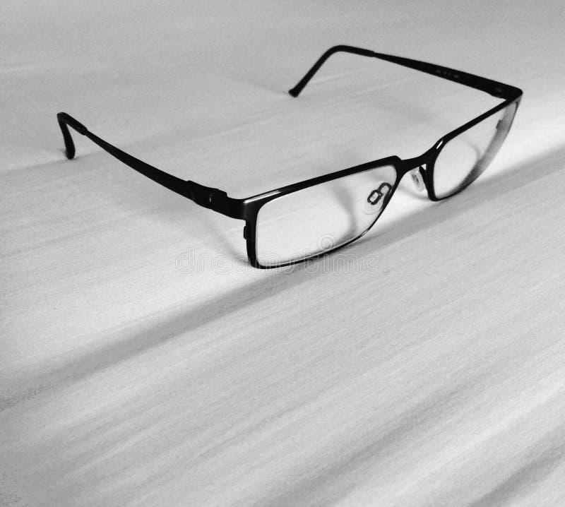 Black&white-Gläser lizenzfreies stockfoto