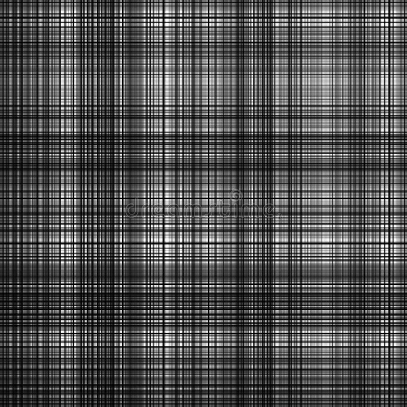 Black and white grid pattern. Black and white abstract grid pattern background royalty free illustration