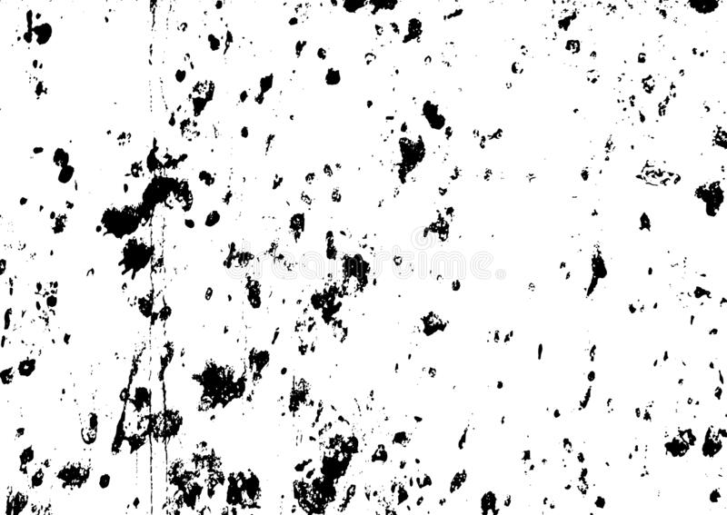 Black and white grunge. Distress overlay texture. Abstract surface dust and rough dirty wall background concept. Distress illustra. Tion simply place over object vector illustration