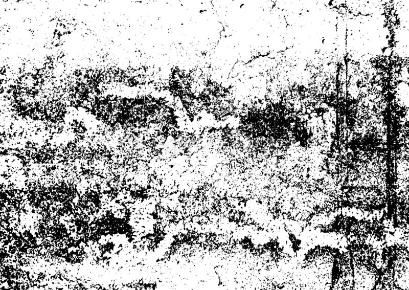 Black and white grunge. Distress overlay texture. Abstract surface dust and rough dirty wall background concept. Distress illustra. Tion simply place over object royalty free illustration