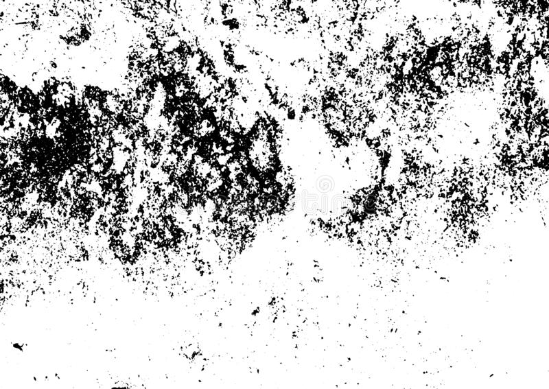 Black and white grunge. Distress overlay texture. Abstract surface dust and rough dirty wall background concept. Distress illustra. Tion simply place over object stock illustration