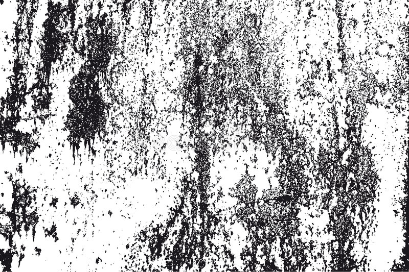 Black and white grunge texture stock illustration