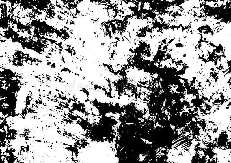 Black and white grunge urban texture  with copy space. Abstract illustration surface dust and rough dirty wall background wi. Th empty template. Distress and vector illustration