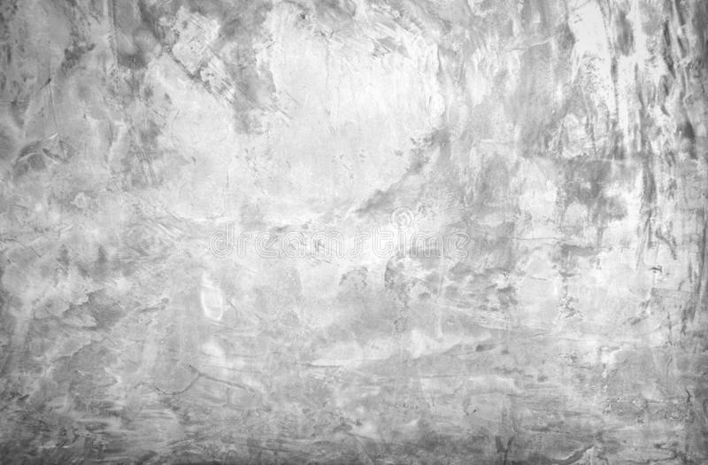 Black and white grunge urban texture with copy space. Abstract surface dust and rough dirty wall background or wallpaper with. Empty template for all design royalty free illustration