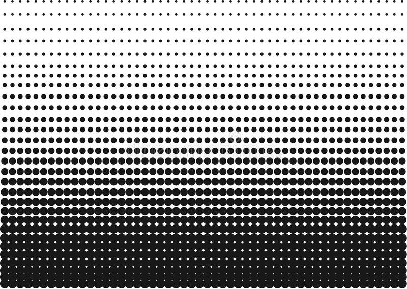 Download Black And White Halftone Gradient As A Background Or Motif To Be Used Pop Art Or Retro Comics. Editable Clip Art. Stock Vector - Illustration of light, background: 67658280