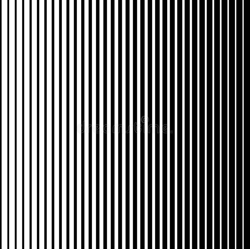 Drawing Lines With Gradients : Black and white halftone vertical stripes pattern stock