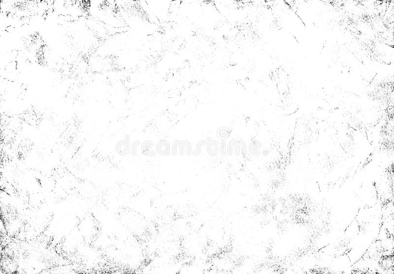 Grunge texture with paint daubs. Black and white hand drawn grunge texture with paint daubs for design overlays royalty free stock images