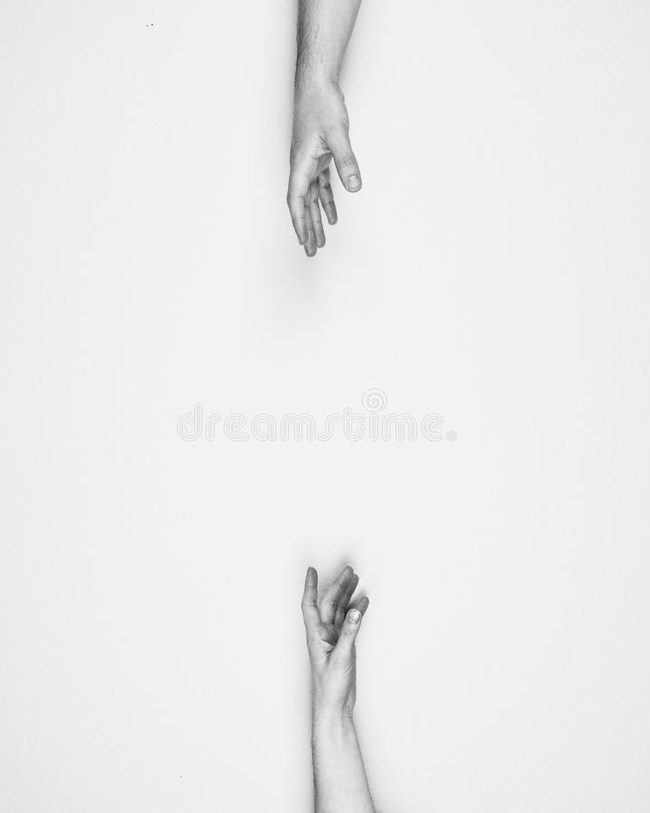 Black And White, Hand, Finger, Joint royalty free stock photography