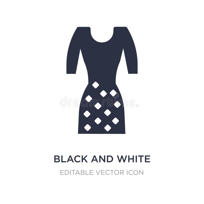 black and white icon on white background. Simple element illustration from Fashion concept stock illustration