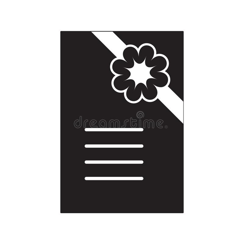 Banner Vector Black-and-white Ribbon Decor Stock Vector