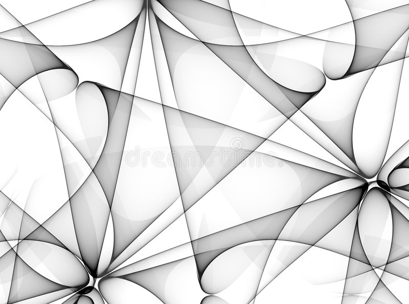 Black and White Lines Pattern royalty free illustration