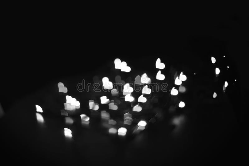 Black and white love blur background royalty free stock photo