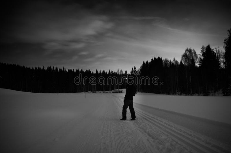 Black and White stock image