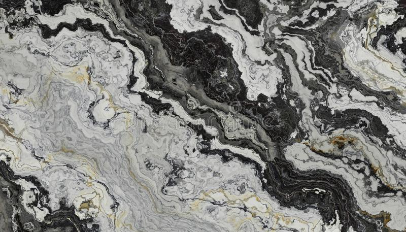 Black and White marble vector illustration