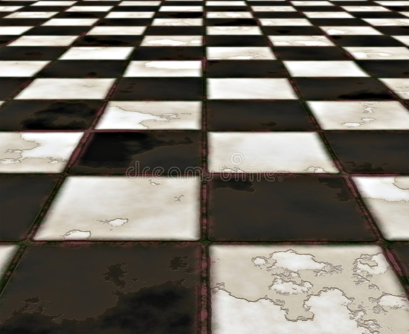Download Black And White Marble Floor Stock Photo - Image: 4520308