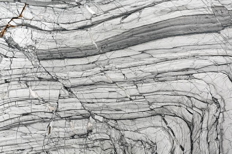 Black and white marble patterned texture background. royalty free stock photography