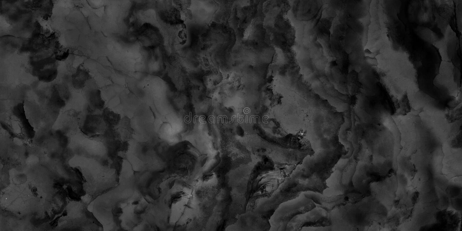 Black and white marble stone natural pattern texture background and use for interiors tile wallpaper luxury design royalty free stock photography