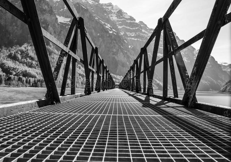 Black And White, Monochrome Photography, Landmark, Bridge stock photos