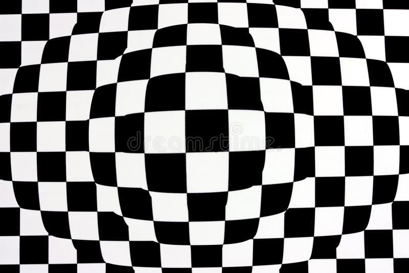 Black white op-art stock photography