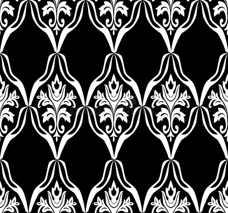Download Black and white pattern stock vector. Image of antique - 13189870