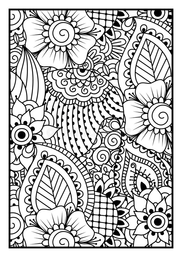 Black and white pattern. vector illustration