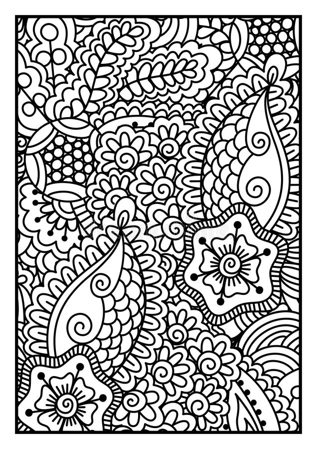 Black and white pattern. royalty free illustration