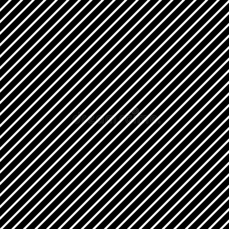 Black and white pattern Line parallel monochrome for stylized texture background design. Vector illustration royalty free illustration