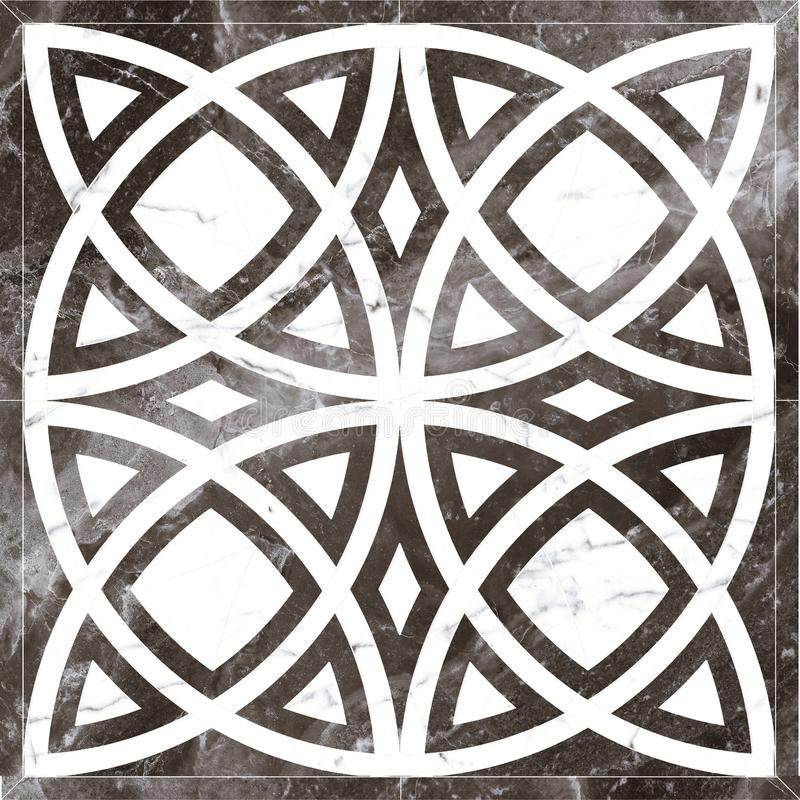 Black And White, Pattern, Symmetry, Design royalty free stock image
