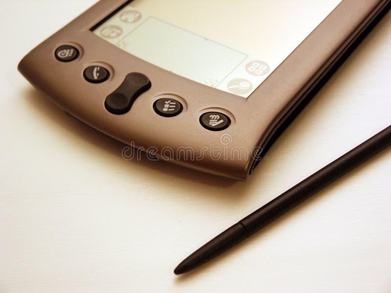 Black & White PDA royalty free stock image