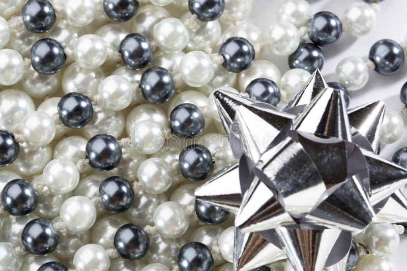 Download Black and white pearl stock image. Image of jewelry, fashion - 25443249