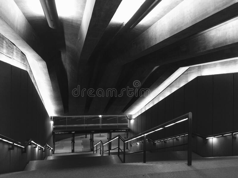 Black And White Photography Of Stairs Free Public Domain Cc0 Image