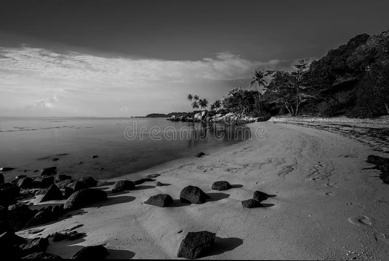 Black and white Photos at Batam Bintan Islands. Blackwhite Photos at Batam Bintan Islands royalty free stock photos