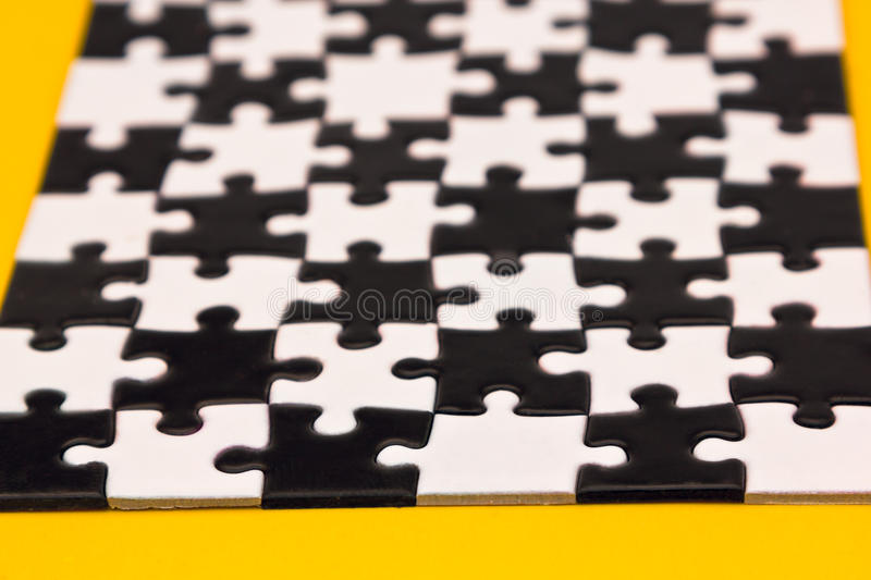Download Black and white puzzles stock photo. Image of design - 38337196