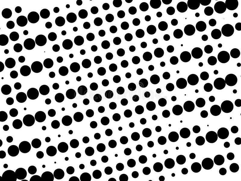 Black and white retro pattern vector illustration