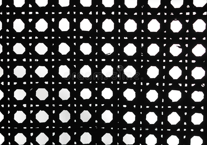 Download Black And White Retro Weave Pattern Stock Image - Image: 25427243
