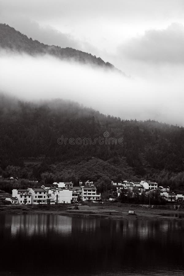Black and white scenery stock photos