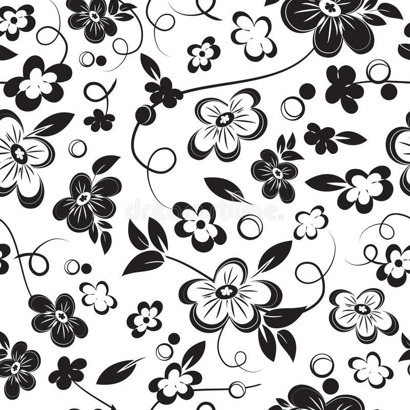 Download Seamless Floral Background stock vector. Image of wrapping - 30055394