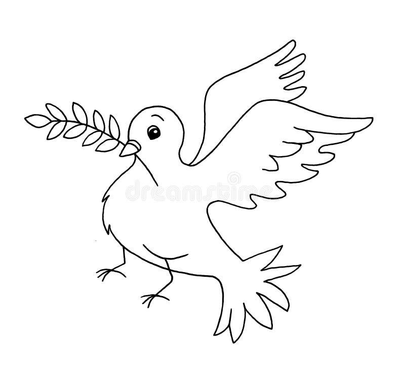 Black and white - simbol of peace