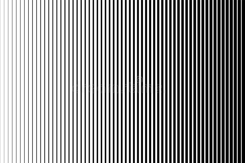 Black and white simple pattern. Light effect. Gradient background with line . Halftone design . vector illustration