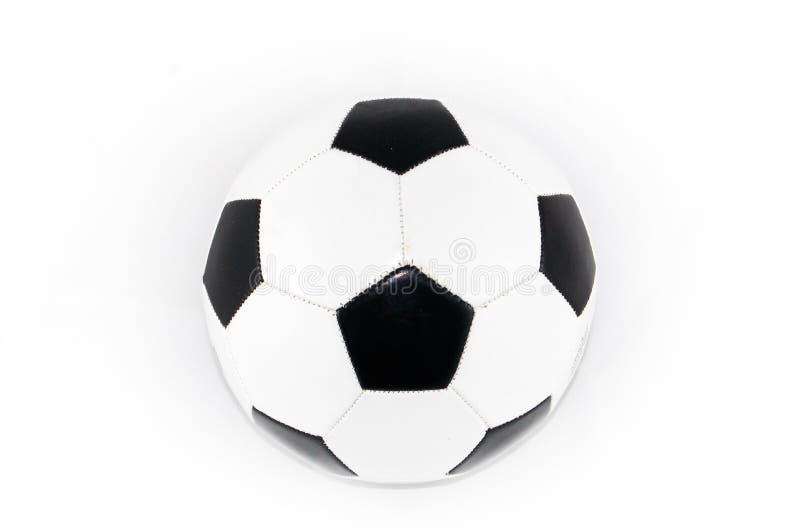 Black and White Soccer Ball stock image