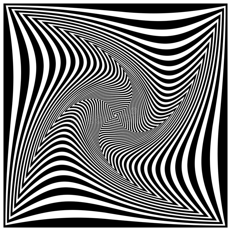 Download Black and white spiral stock vector. Image of move, design - 12785660