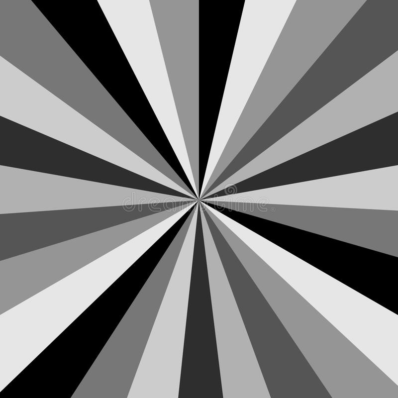 black and white starburst background